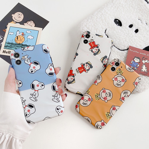 【オーダー商品】Cute boy girl dog iphone case