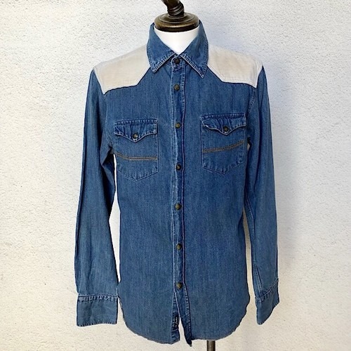 Jachs Used Denim shirt Made In Turkey Large