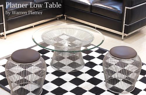 プラットナーローテーブル Platner Dining Table