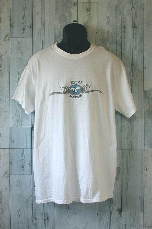 アメリカ輸入古着Exuma BahamasTシャツ RankC☆アメカジ古着ファッション