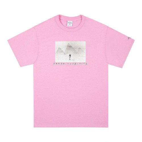 Noah x Earth, Wind & Fire Pyramids Tee(Pink)
