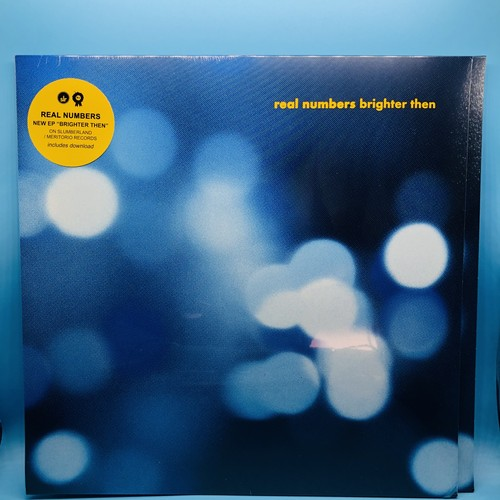 """Real Numbers / Brighter then (12"""")"""