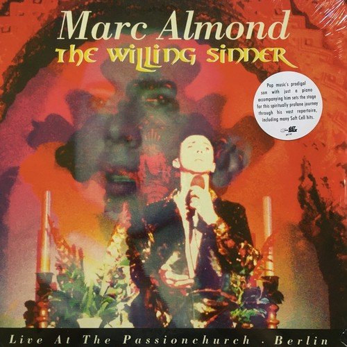 【LPx2・伊盤】Marc Almond  / The Willing Sinner - Live At The Passionchurch - Berlin