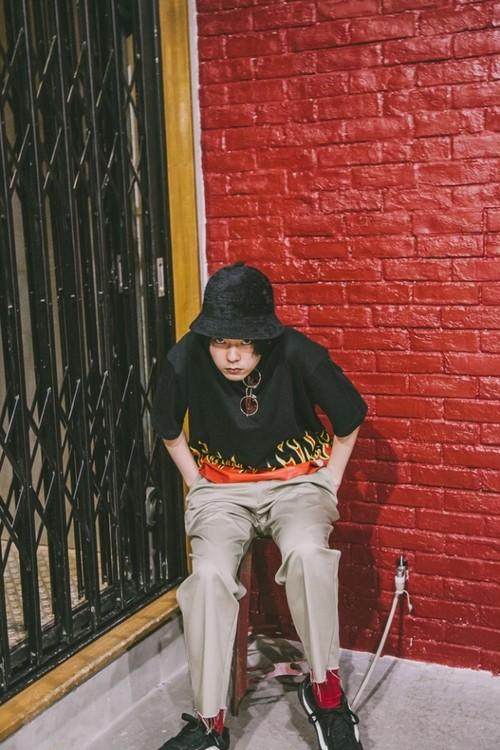 [予約商品]EFFECTEN(エフェクテン)2tuck Chino pants