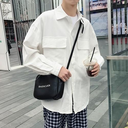 ビッグポケットシャツ BL4105