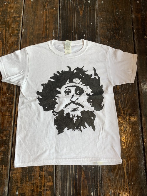 Face tee キッズ ホワイト