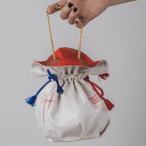 """Kimono Bag """"Spinning Topコマ"""""""
