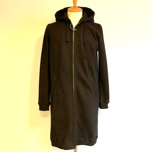 Light Weight Long Parka Black