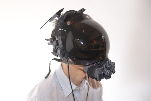 Black Cyberpunk Headset