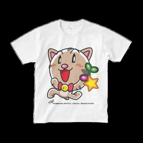 <白Tシャツ 正面>回収みーちゃん