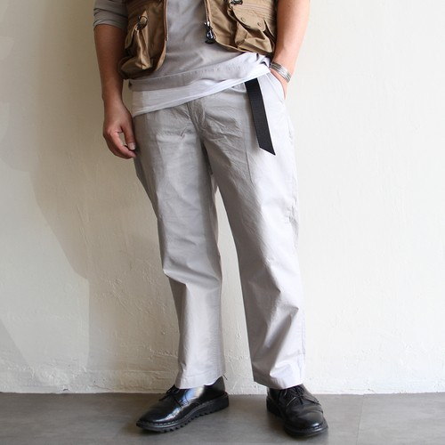 STILL BY HAND【 mens 】semi-wide pants