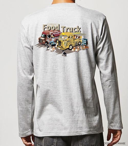 No.sweat3002 長袖Tシャツ:フードカー 5.6オンス ロングスリーブ Tシャツ