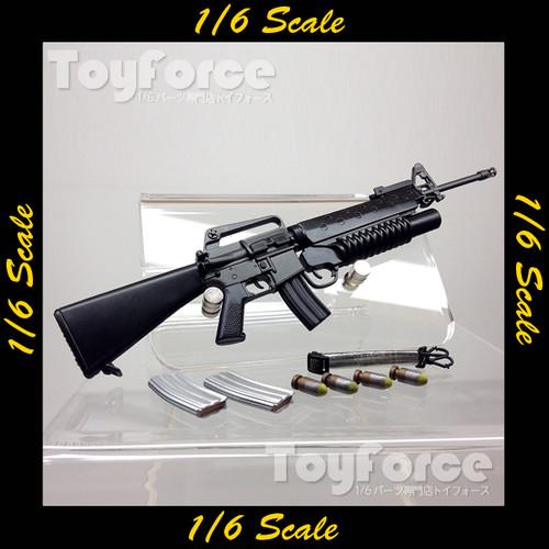 【02560】 1/6 M16 w/M203グレネードランチャー