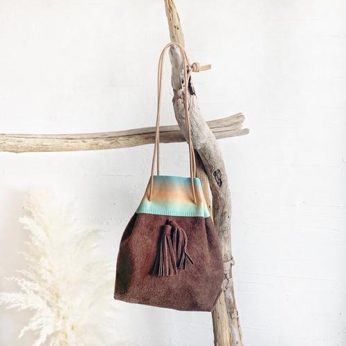 tassel 2way bag