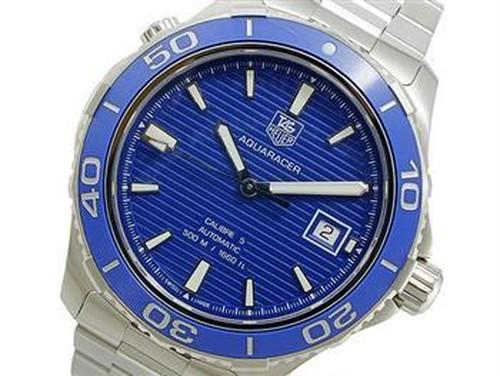 タグホイヤー TAG HEUER アクアレーサー AQUARACER 自動巻き 腕時計 メンズ WAK2111.BA0830
