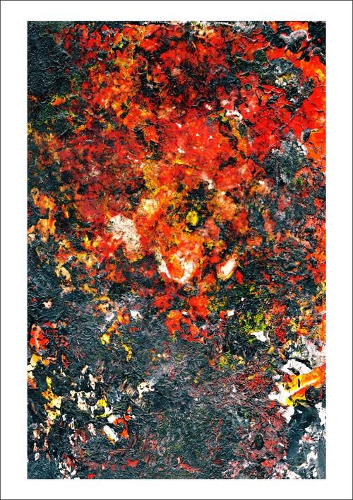 アート・インクジェットプリント(42.0cm×59.4cm) -Dropped The Napalm-
