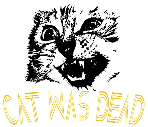 CAT WAS DEAD フォント1 アプリコット