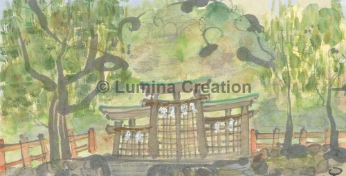 三輪の檜原神社