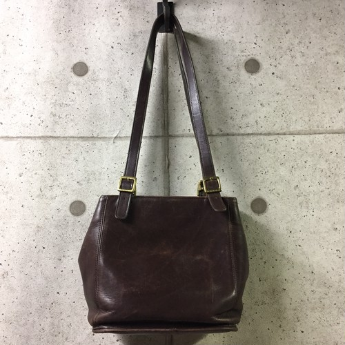 OLD COACH レザー トートバッグ 6008