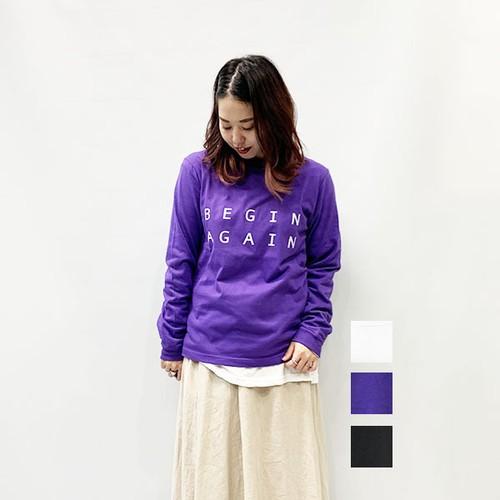 sieste peau(シエスタポー) BEGIN L/T-shirt 2020秋物新作