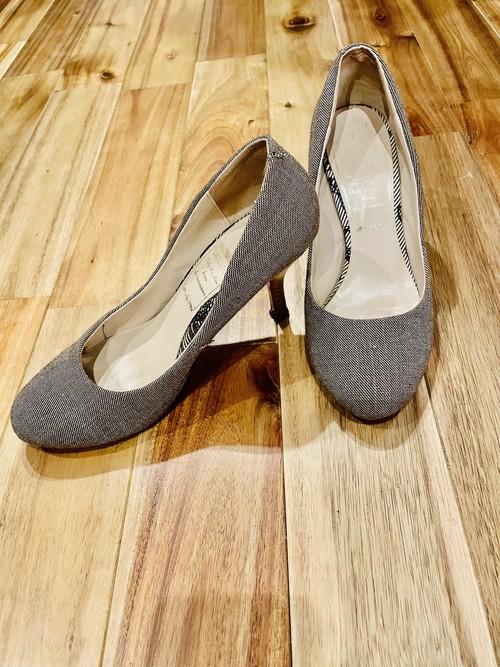 靴④ 薄茶色(ラメ入り) (中古品)