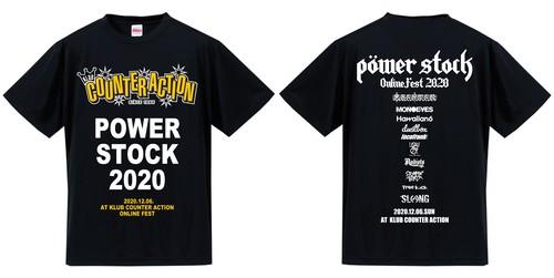 POWER STOCK 2020 ONLINE FEST【OFFICIALデザイン】T-SHIRT