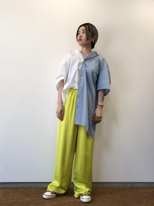 【20SS】MM⑥ エムエムシックス / Stripe Shirts One piece