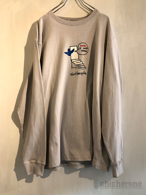 【MARK GONZALES】SLAMED THE DOOR GRAY