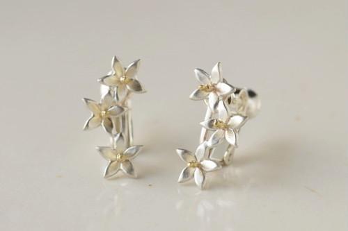 みかんの花のイヤリング、リース