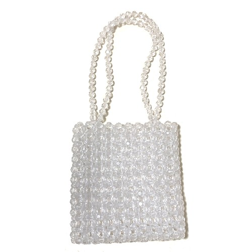 Beads Square Bag