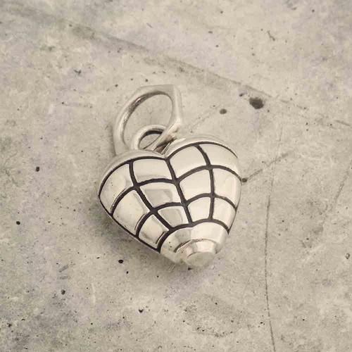 Grenade Heart Pendant