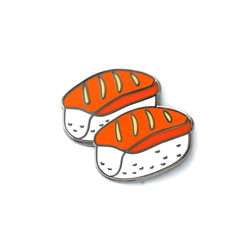 "Real Sic""Sushi Emoji – Enamel Pin for your Life"""