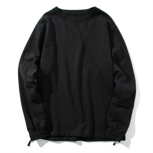 mellow edging sweat shirt(black)