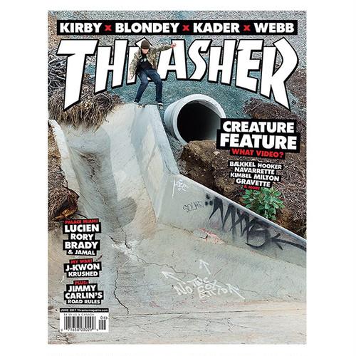 THRASHER - June 2017. Issue 443