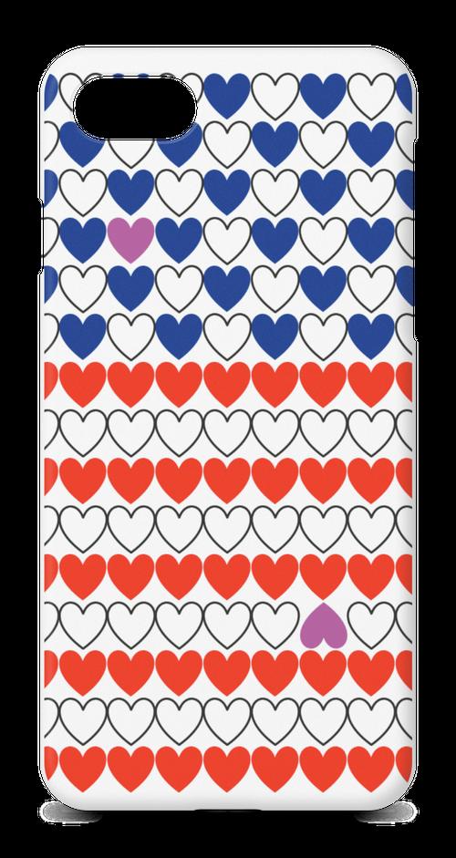 iphone8/7携帯ケース ハートofアメリカ