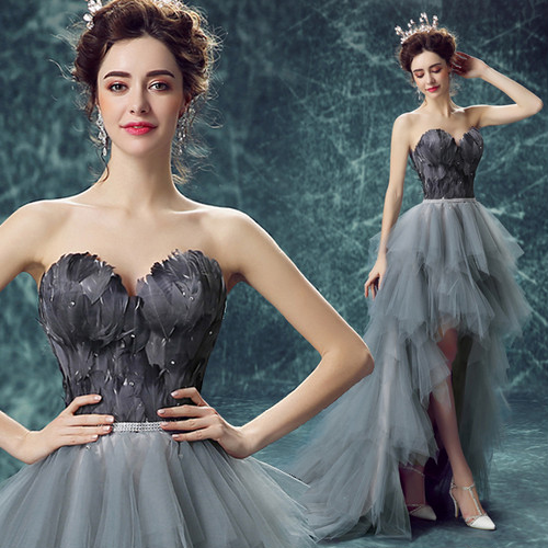 チューブトップドレス ショート丈 スパンコール ハイウエスト セクシー 結婚式 二次会 パーティー お呼ばれ wb012
