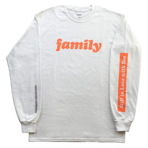 family ロングスリーブTシャツ