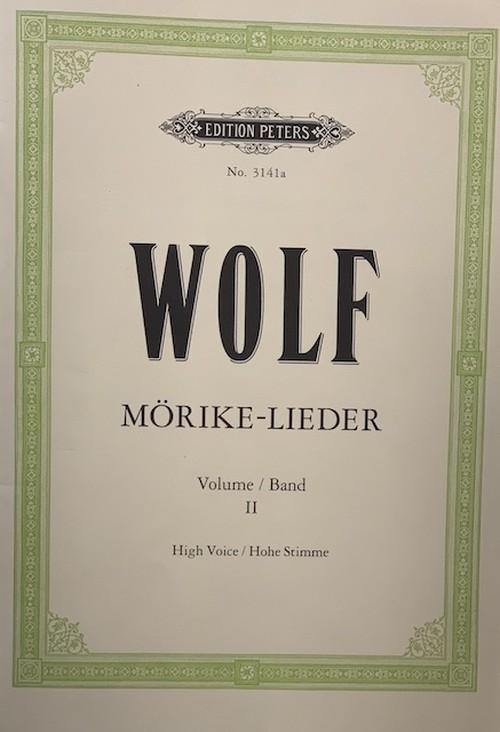 A01i66 ヴォルフ(ピアノ、歌(高音)/フーゴ・ヴォルフ/楽譜)