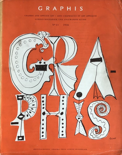 GRAPHIS No. 13  International Bi-Monthly for Graphic and Applied Art