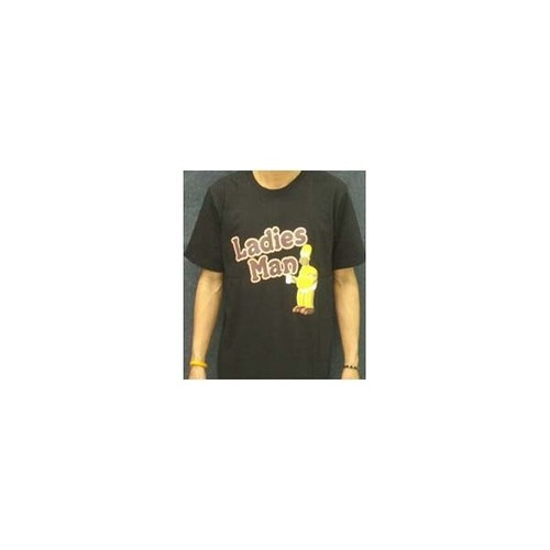 ザ・シンプソンズ The Simpsons Ladies Man プリントTシャツ
