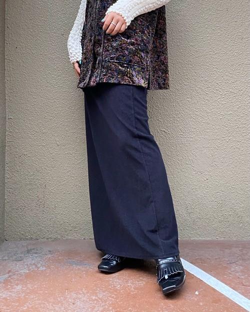 (PAL) knit long skirt