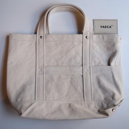 YAECA / ヤエカ     ツールバック・小 コットンナチュラル