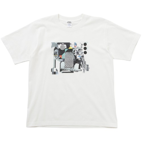 STUDIO BLANCHE / Graphic Print T-Shirt