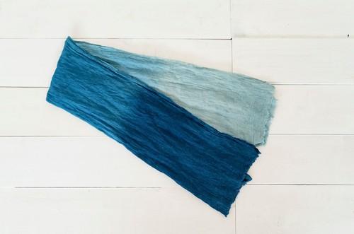 空海藍オーガニックヘンプ手拭い