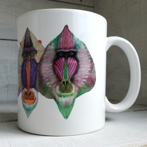 マンドリルマグカップ