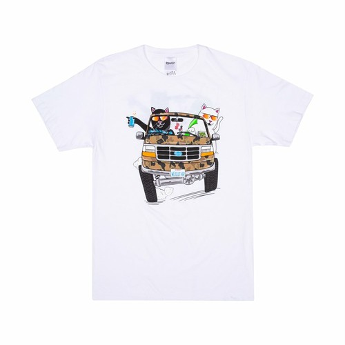 RIPNDIP - The Whole Gang Tee (White)
