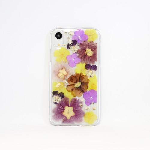 【XR対応】押し花 iPhone case