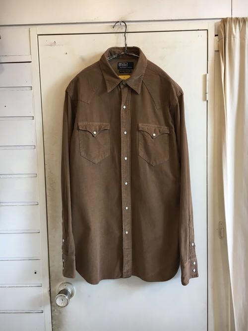 corduroy western shirts