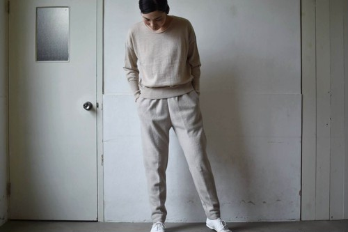 leggings pants(LOOP YARN MILLING)/ miho umezawa