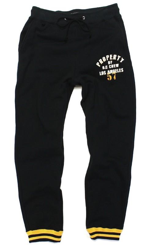 STENCIL PRINT SWEAT PANTS